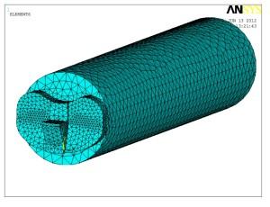 Model MES endoprotezy stawu kolanowego