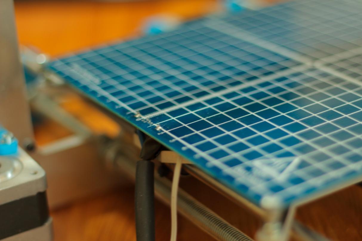 Stół grzewczy i termistor