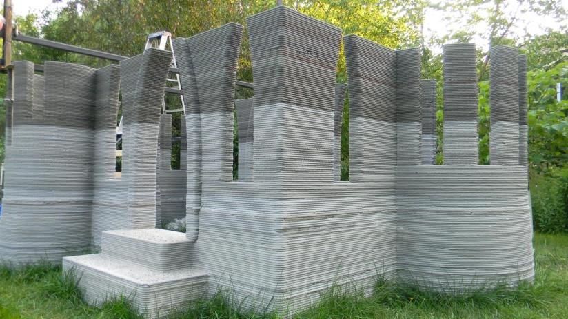 dom z drukarki 3d zamek - drukowanie 3d