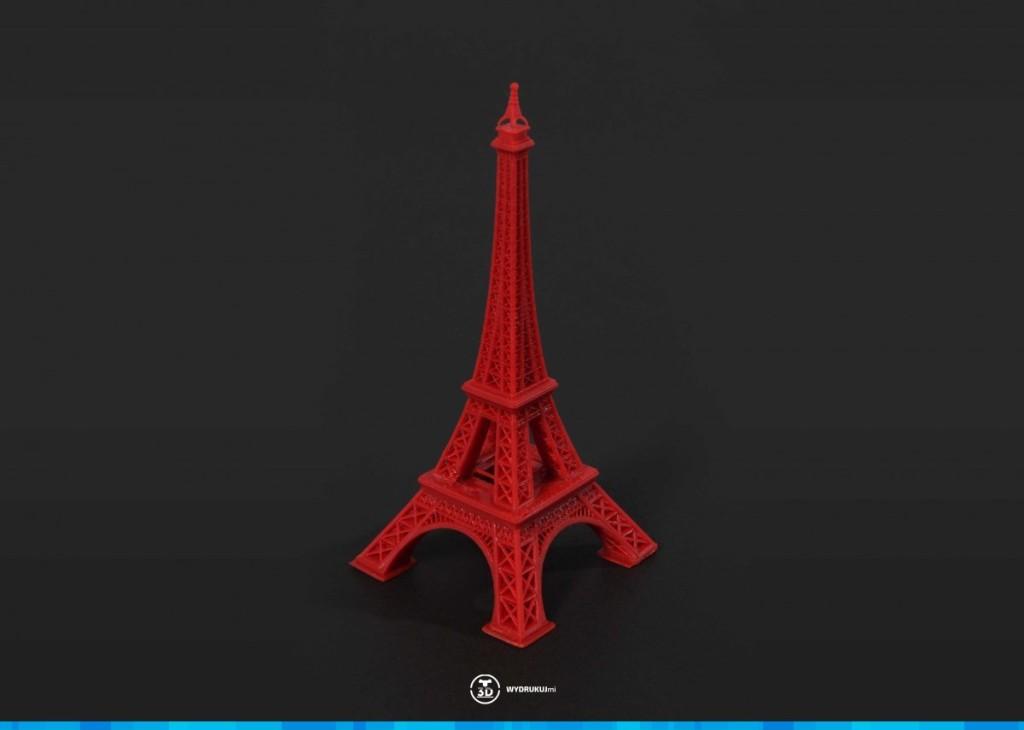 drukowanie 3d - wieża wydrukowana w technologi DLP
