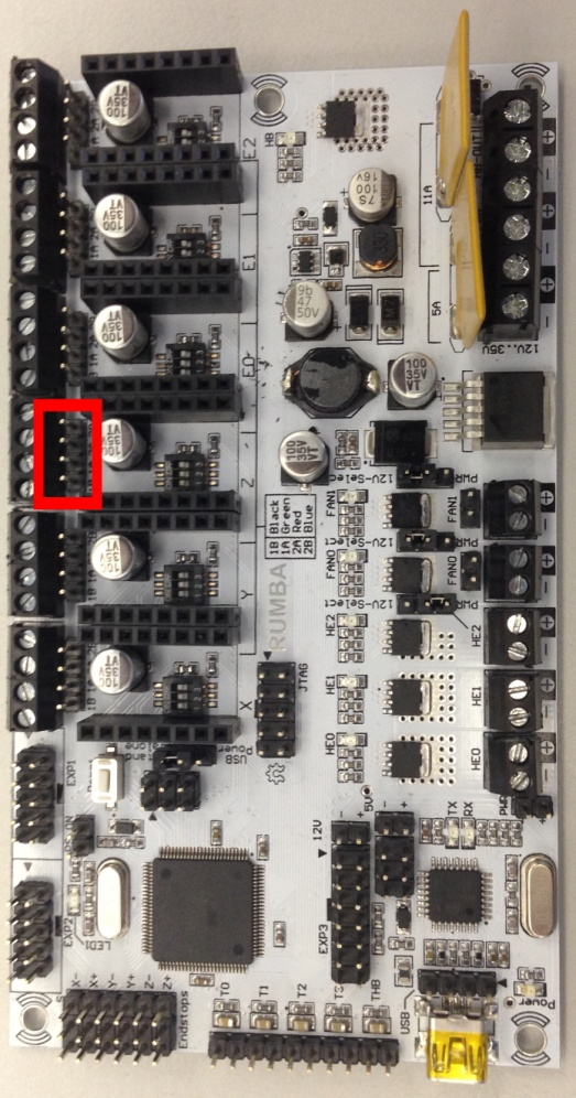 elektronika drukarki 3d - RUMBA