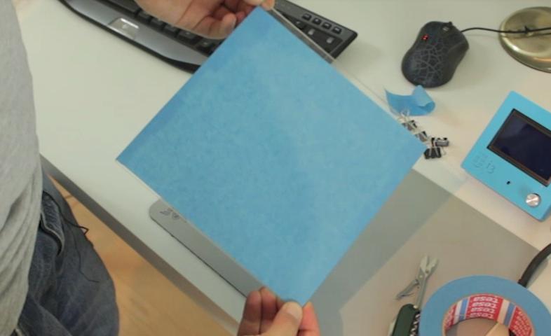 kalibracja drukarki 3d - przygotowanie stołu i przyklejenie taśmy