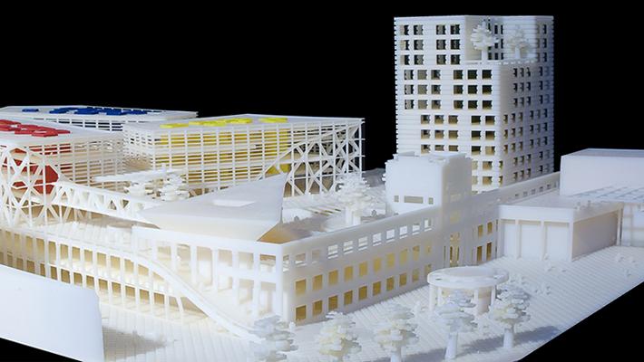 makiety architektoniczne - drukowanie 3d