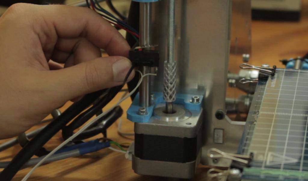 założenie krańcówki mechanicznej drukarki 3d - endstop prusa i3