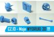 Moje pierwsze wydruki 3D z RepRapa
