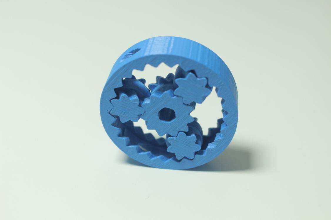 przekładnia planetarna z drukarki 3d