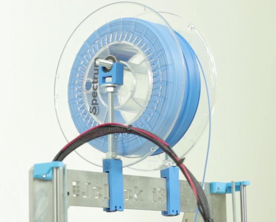 wydruki 3d dla mojego reprapa oraz uchwyt na filament