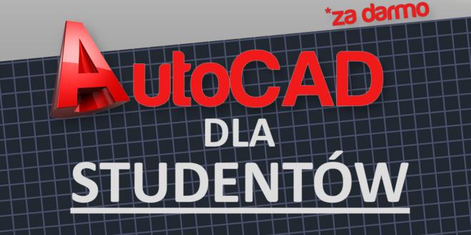 AutoCAD dla studentów za darmo