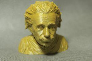 filamenty - Einstein z PLA