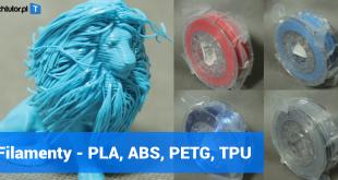 filamenty do druku 3d - pla abs petg tpu