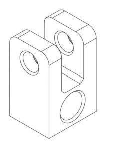 rysunek techniczny aksonometryczny